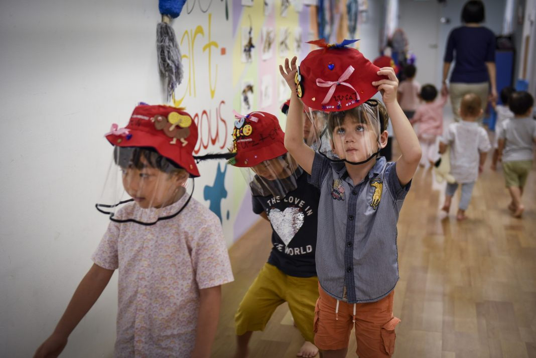 How Children are Social Distancing with Style