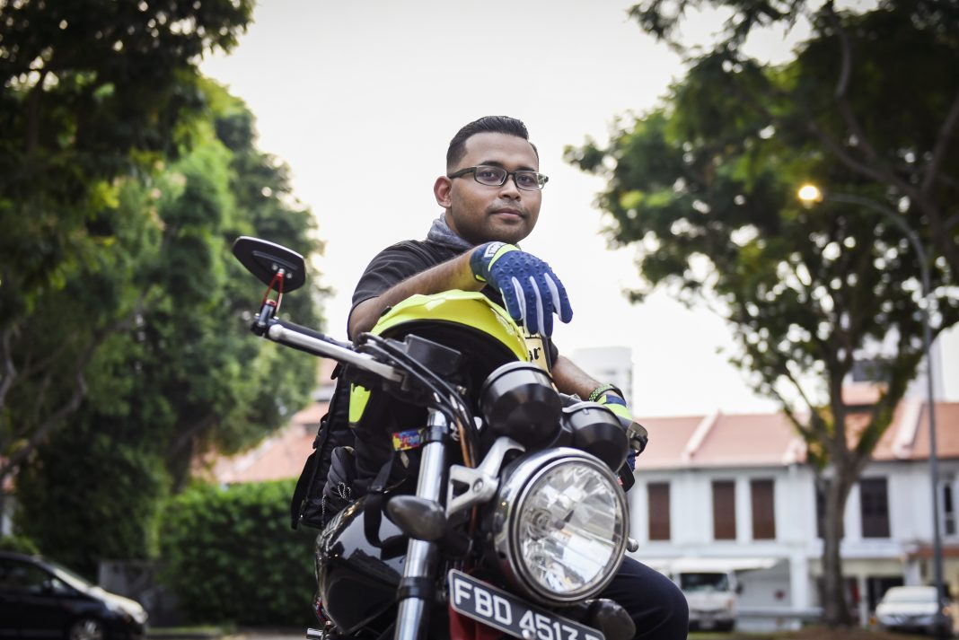It's been almost two months since Ruzaini Syazwan, 29, started the Umbrella Initiative, a project that provides meals for the needy and homeless. The full-time nursing student started out delivering the food on his own, but the project has since expanded to a 9-person team.