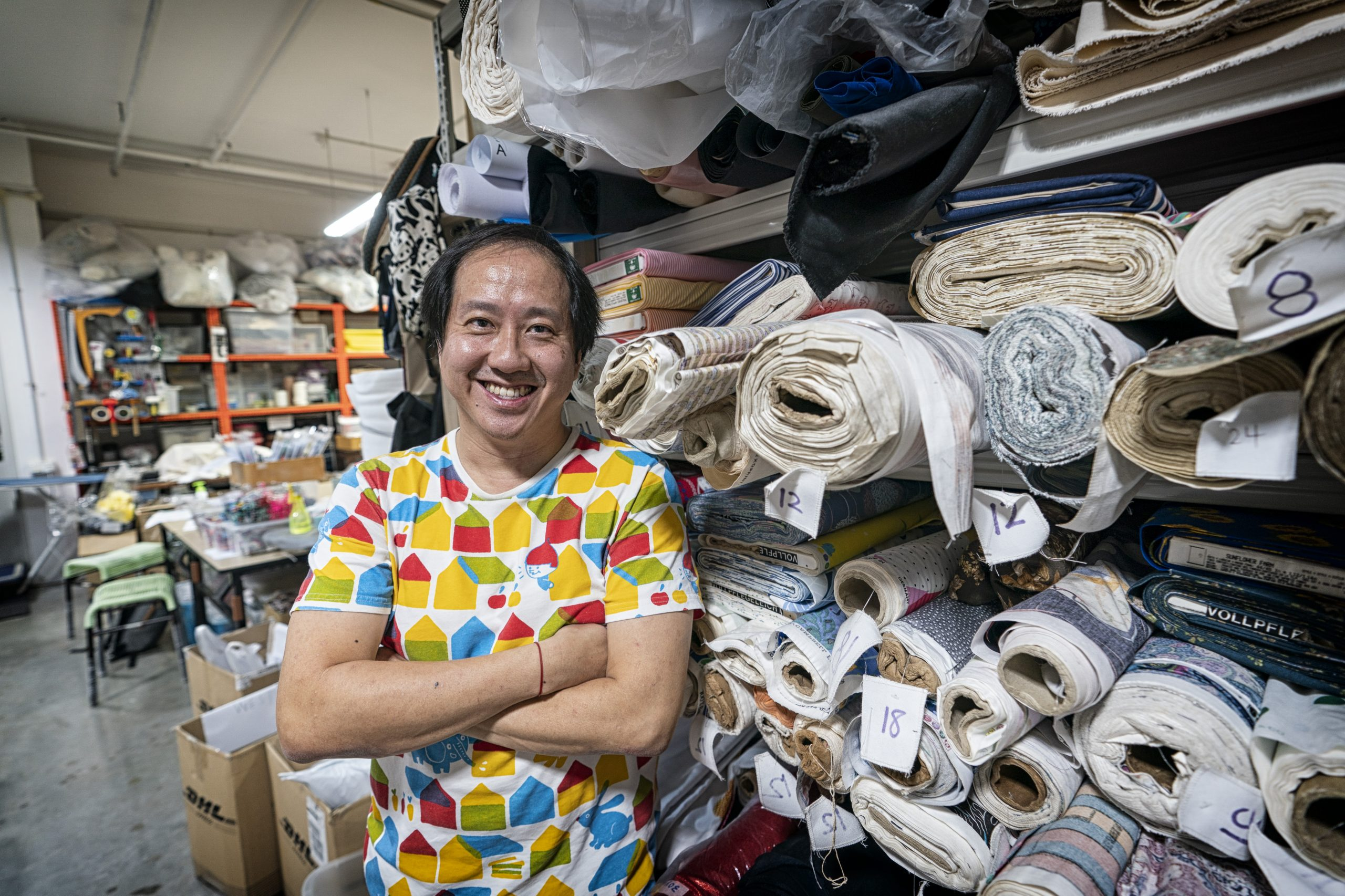 Benny Ng, founder and director of sewing and printing studio, Independent Market is heartened by the positive feedback that his masks have facilitated better communication for the deaf community in Singapore.
