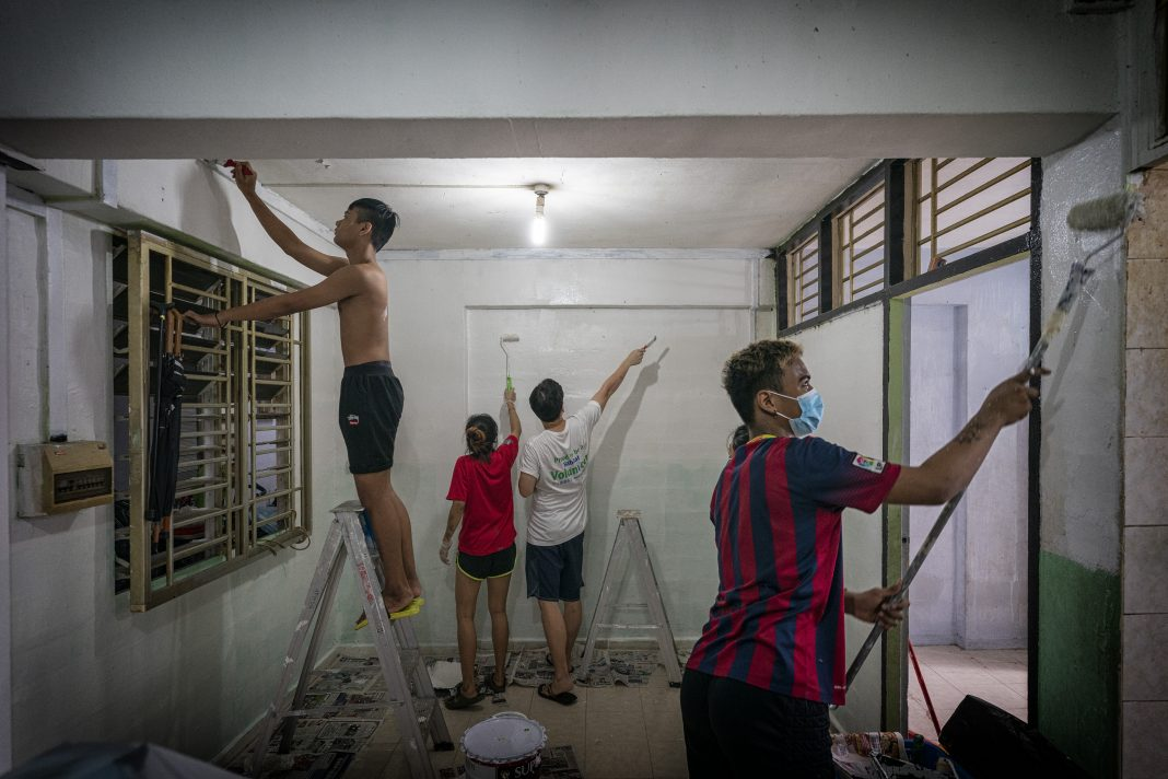 Through the Project HomeWorks programme, Habitat for Humanity Singapore eliminates poverty housing conditions and provides decent living conditions for those in need. BRYAN VAN DER BEEK