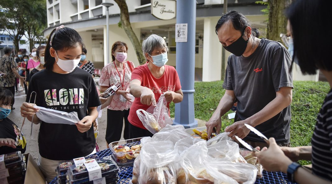 The Giving Collective food redistribution