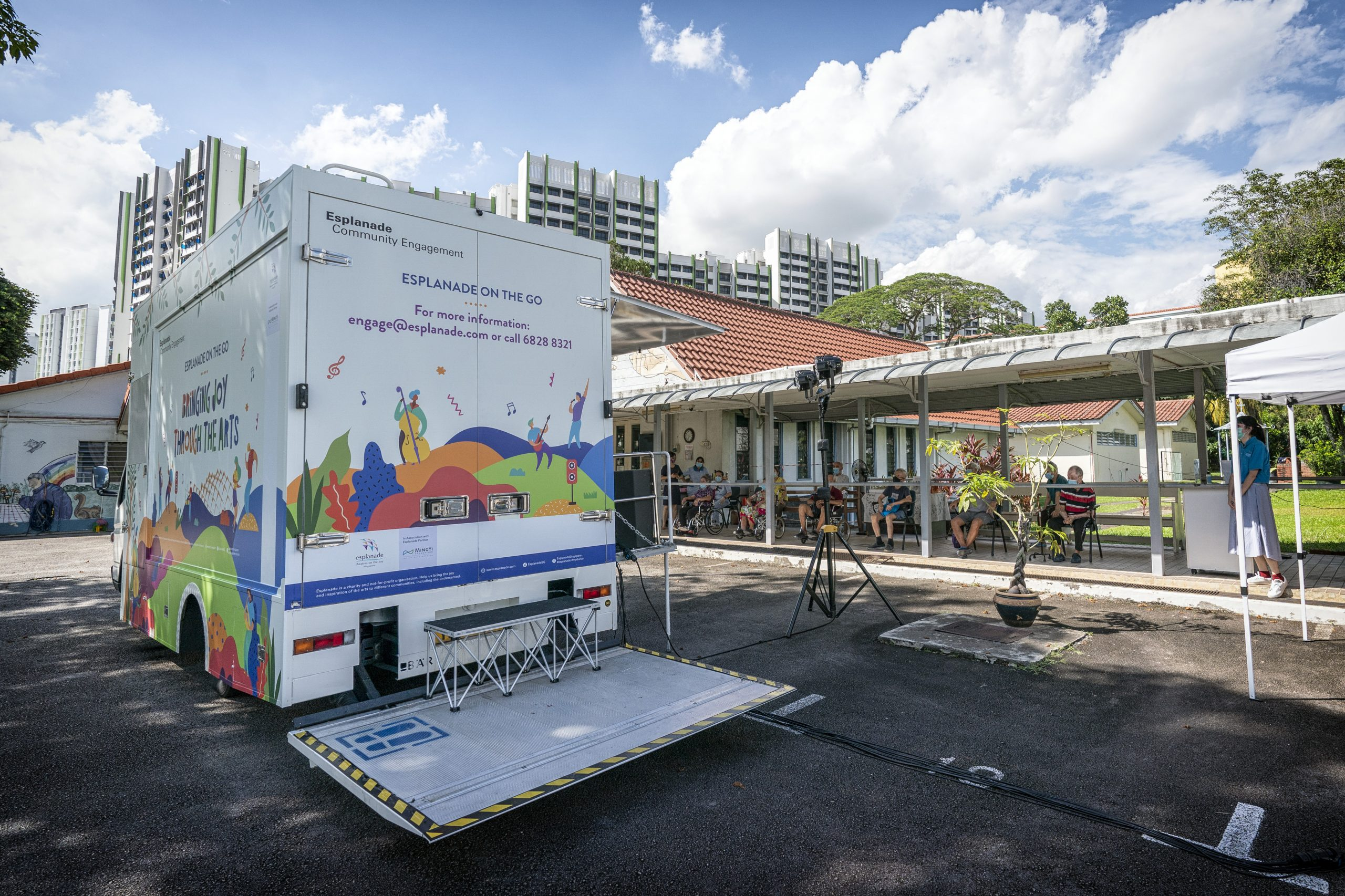 Esplanade on the Go Music Truck