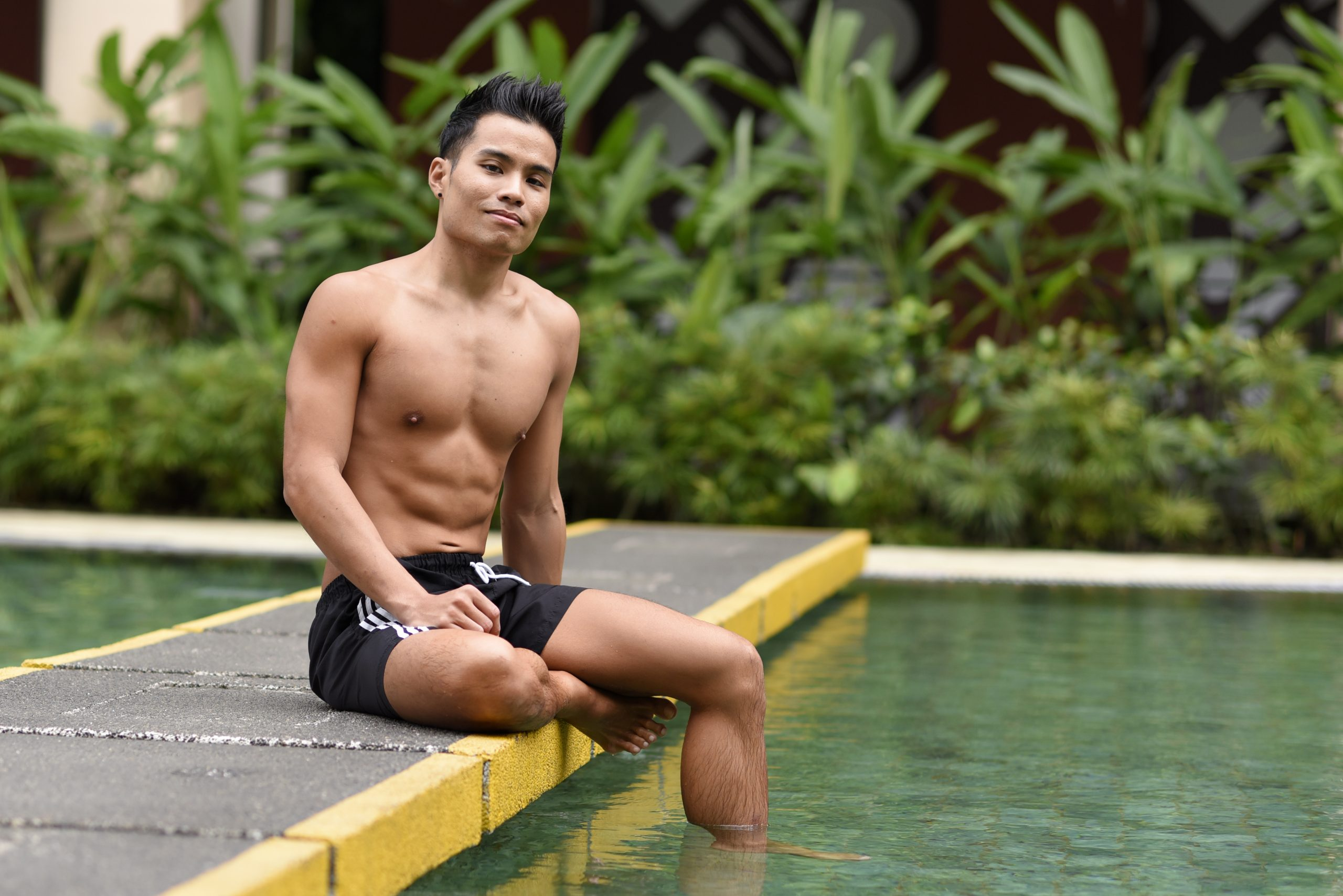 Nicholas Lim, 30, a beneficiary of the Singapore Haemophilia Society.