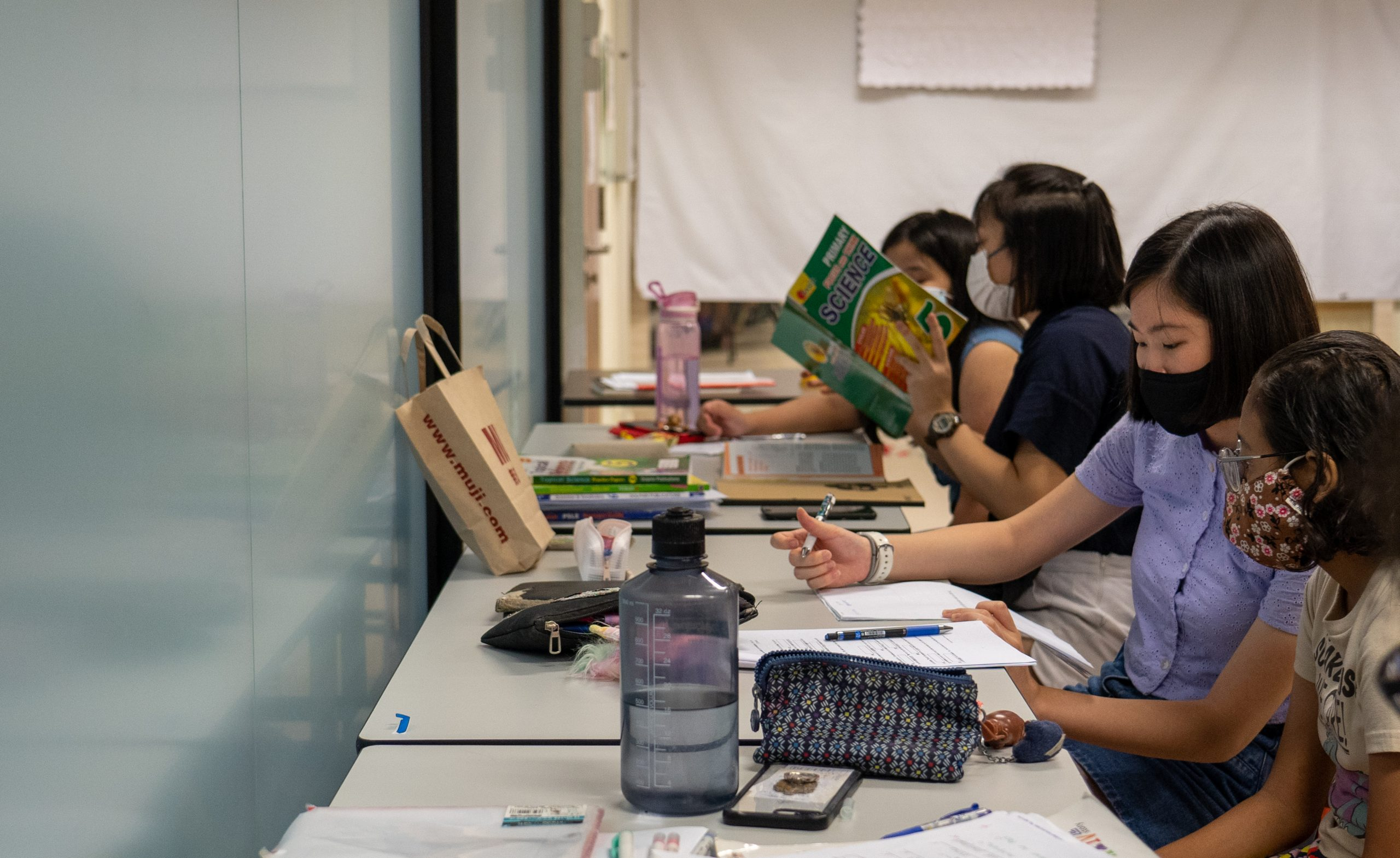 """In spite of its name, the 'Homework Club' is more than just improving academics, """"but rather to encourage these kids, keep them off the streets and provide a safe and conducive environment for them to come,"""" shares Ms Christabel Ng."""