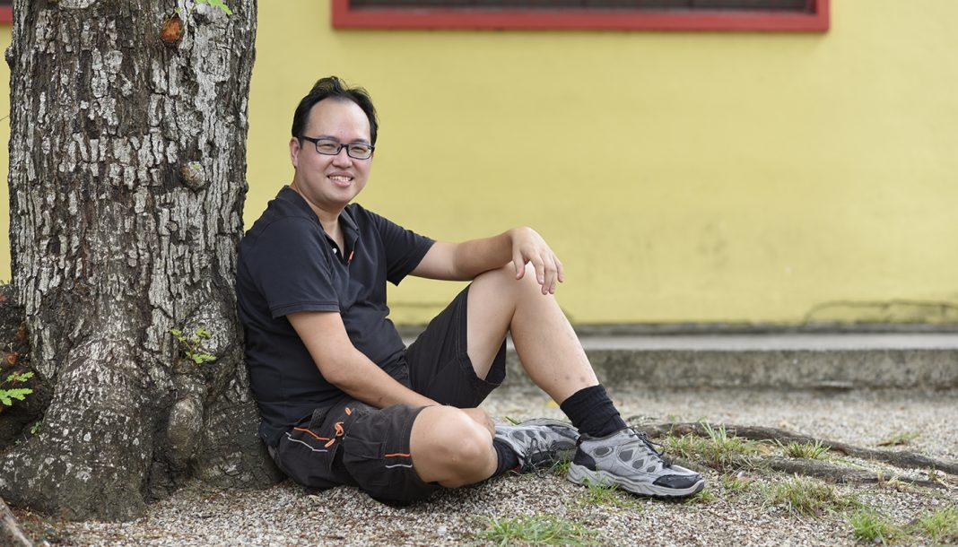 Daniel Tay, 41, a retired financial advisor, works part-time at his friend's minimart in Little India. He is the go-to person for groups or individuals keen on food rescuing or who would like to start a community fridge here.